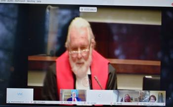 Justice Brooker Virtual Swearing Out Ceremony